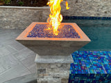 Majestic Fire Bowl - Travertine