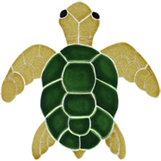 Classic Turtle Topview Natural-Small