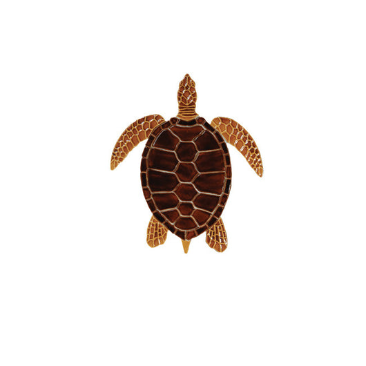 Brown Sea Turtle -10