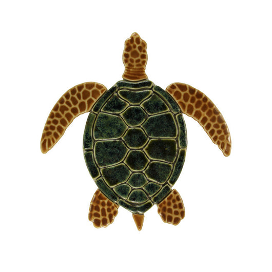 Sea Turtle - Green/Brown 18