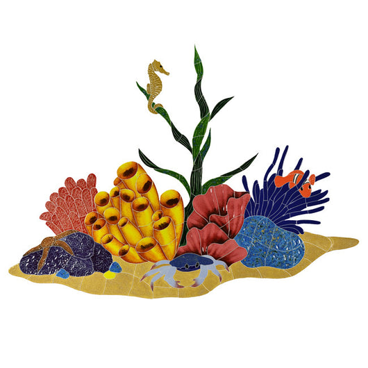 Tropical Reef Mosaic