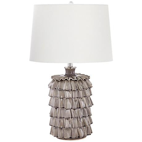 Nickel Table Lamp-Table Lamp-yZiGN Interior Design