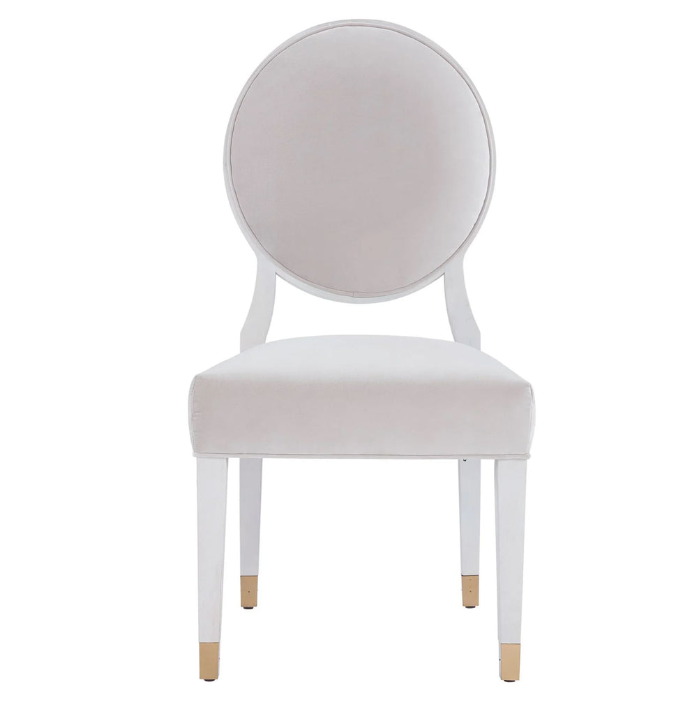 LOVE JOY OVAL SIDE CHAIR