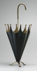 Black and Gold Iron Umbrella Holder-Umbrella Holder-yZiGN Interior Design