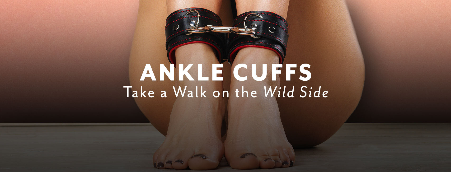 Luxury High-End Leather Ankle Cuffs