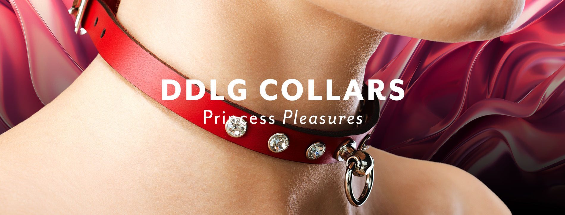 Luxury Leather DDLG Collars