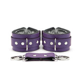 "Berlin 2"" Lockable BDSM Bondage Submissive Cuffs"