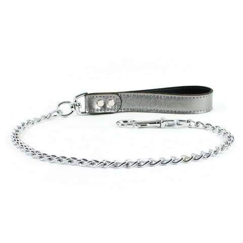 Gaius Special Edition Gunmetal Bdsm Leash BDSM