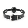Luxury BDSM Ball Gag Back Buckle