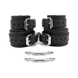 "Berlin 2"" BDSM Bondage Submissive Cuff Set"