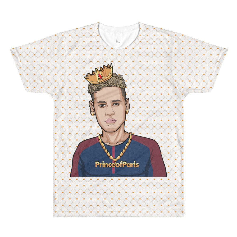 Prince of Paris All-Over-Print T-Shirt