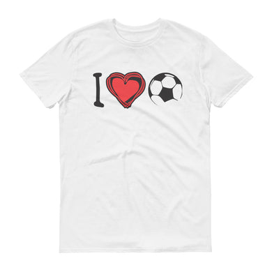 I Heart Soccer Short-Sleeve T-Shirt