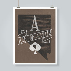 """Ace of States"" Art Print"
