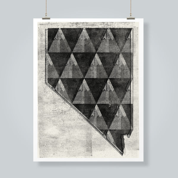 Nevada Mountains No.1 Art Print