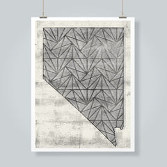 Nevada Mountains No.2 Art Print