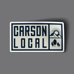 """CARSON LOCAL"" Sticker"