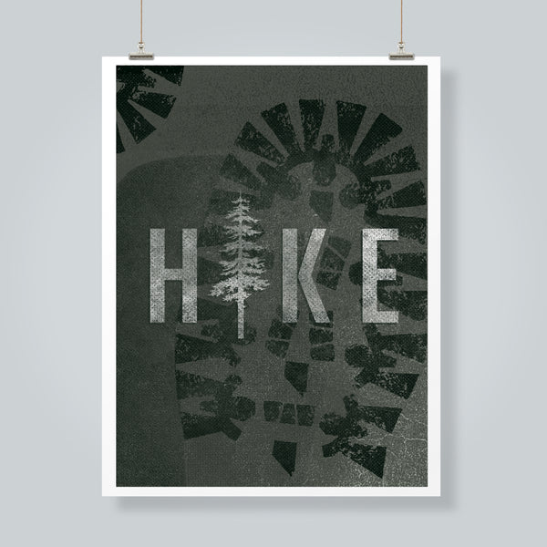 """Hike Nevada"" Art Print"