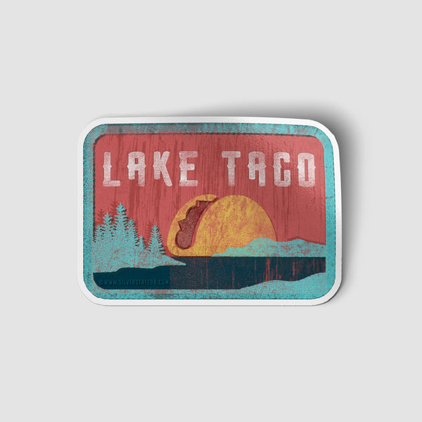 Lake TACO Sticker