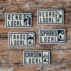 """RENO LOCAL"" Sticker"