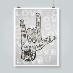 """I Love You Nevada"" Art Print"