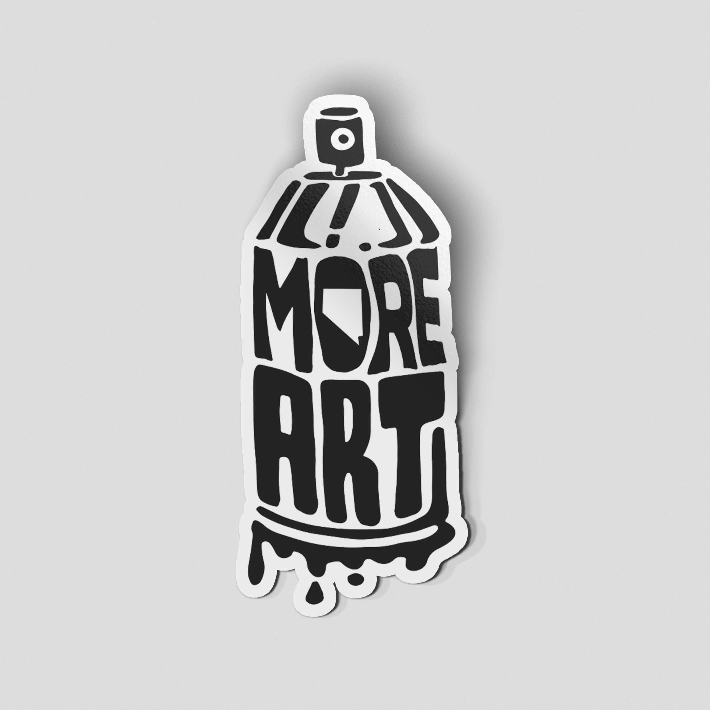 "- PRE-ORDER - ""MORE Nevada Art"" Sticker"