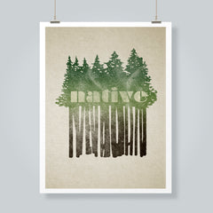 """Native Nevadan"" Art Print"