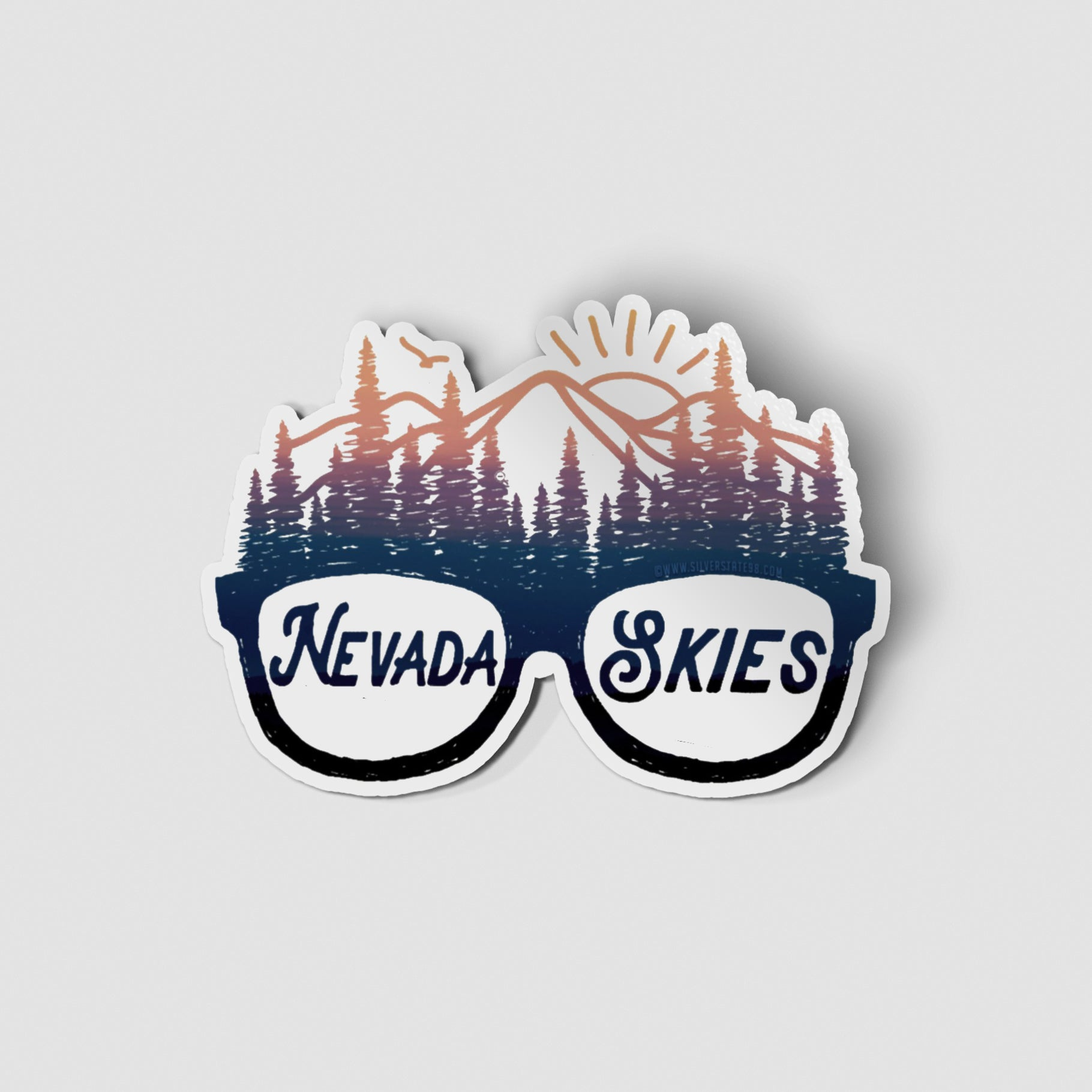 Nevada Skies Sticker