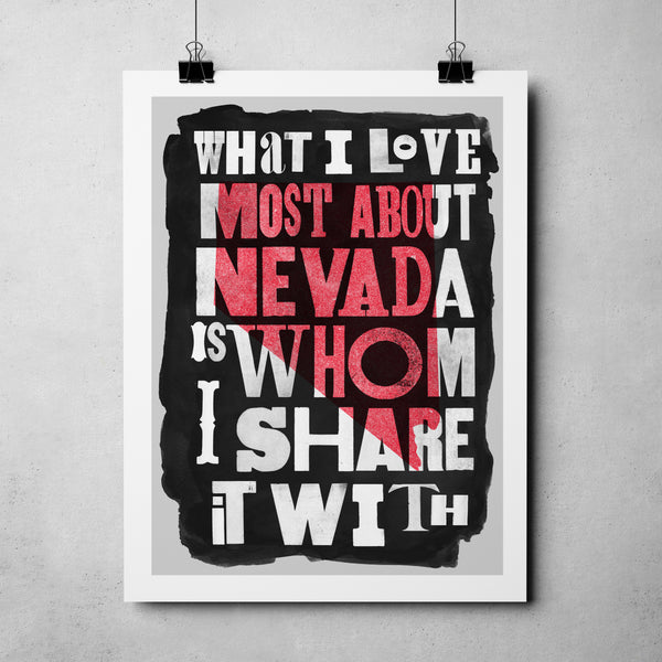 "Nevada Day - ""Shared Nevada"" Art Print"