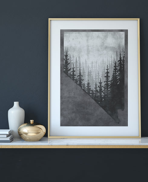 """Snow-capped"" Art Print"