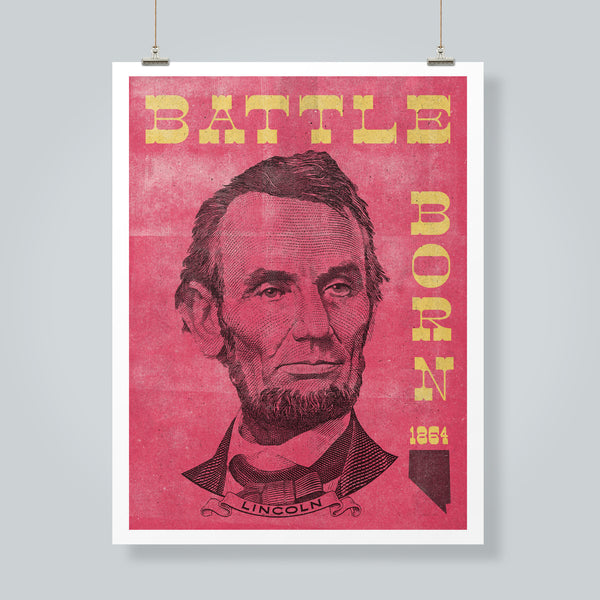 """Battle Born"" Art Print"