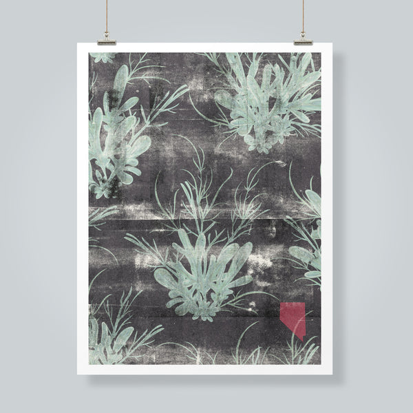 """Sagebrush"" Art Print"