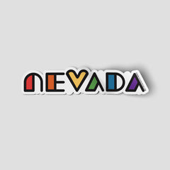 """Nevada Pride"" Sticker"