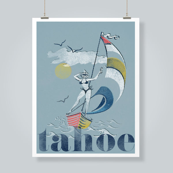 """On Lake Time"" Art Print"