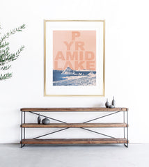 """Pyramid Lake"" Art Print"
