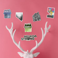 """Home Nevada"" Sticker"