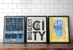 """Biggest Little City"" Art Print"