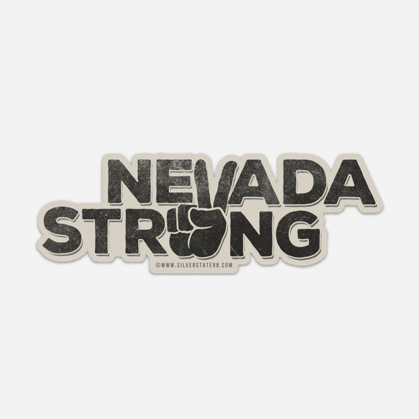 """Nevada Strong"" Sticker"