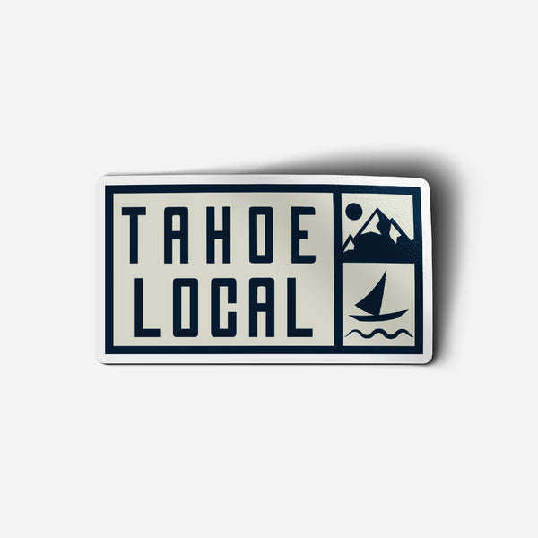"""TAHOE LOCAL"" Sticker"