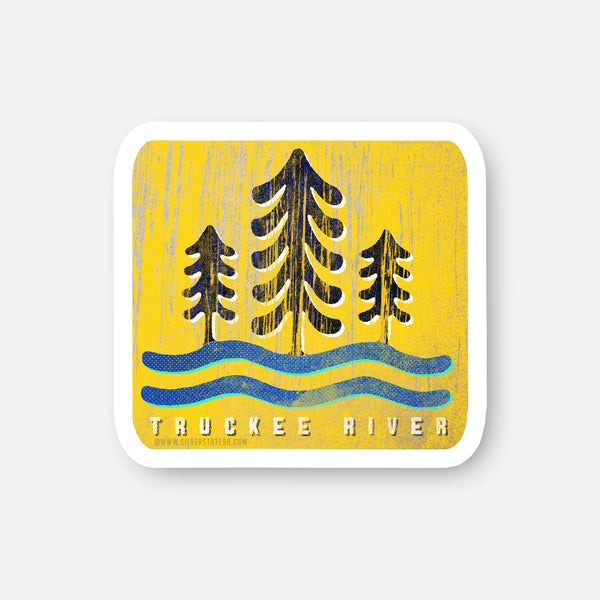 Truckee River Sticker