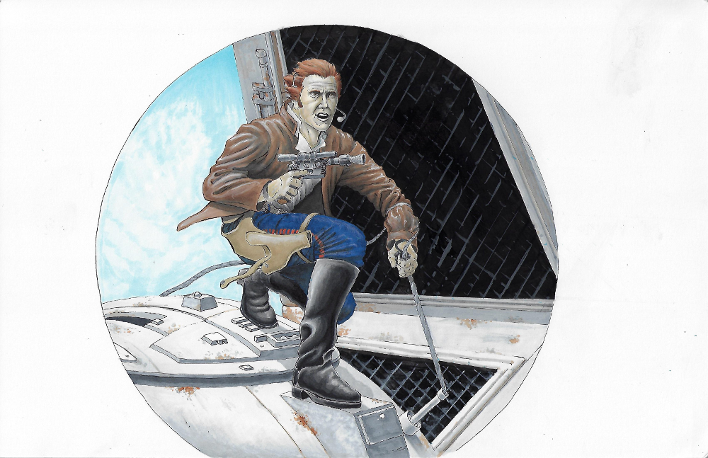 The Adventures of Captain Solo 11 x 17