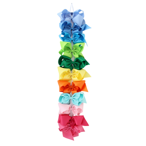 Bows Arts Grosgrain 7 Inch Bow on Clippie