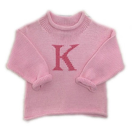 Claver Unisex Letter Sweater