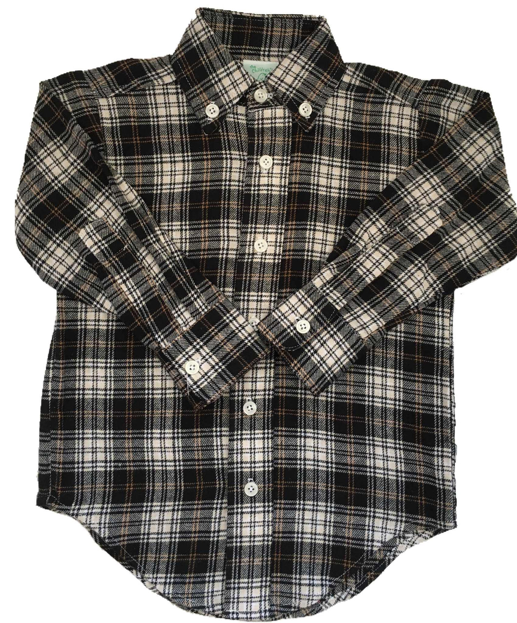 CCP Flannel Button Down Oxford Merrick Khaki Plaid
