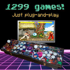 New! 1299-game 2-player Arcade Retro Console
