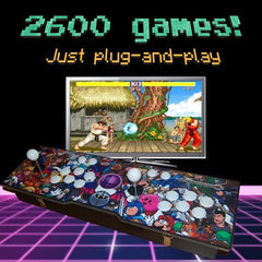 *NEW* 2600-game 2-player Arcade Retro Console