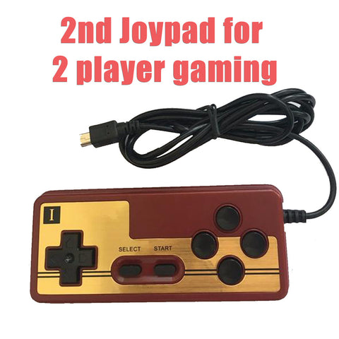 2nd player controller for handheld console