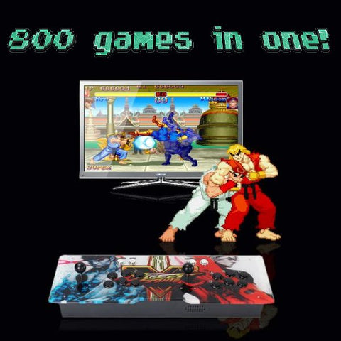 800-game 2-player Arcade Retro Console **Choose your own custom artwork**