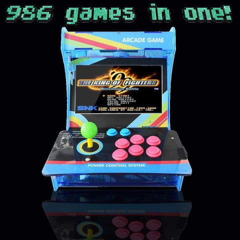 986-game 1-player Arcade Retro Console with LCD screen