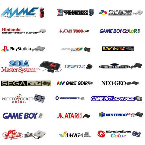 RetroPie Ultimate Emulation Console - Silver Bundle