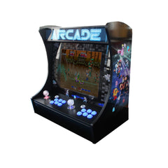520-game 2-player Bar-top Retro Arcade Retro Console with screen & light-up joystick/buttons